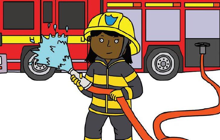 Firefighter uniform game