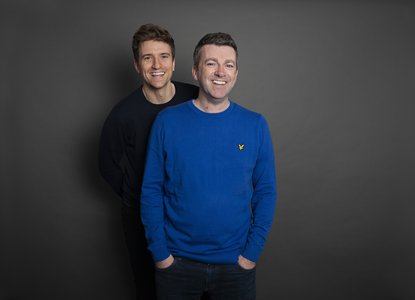 Greg James & Chris Smith 1 (c) Jenny Smith