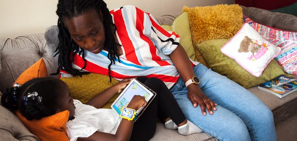 Using technology with your child is a great way to learn