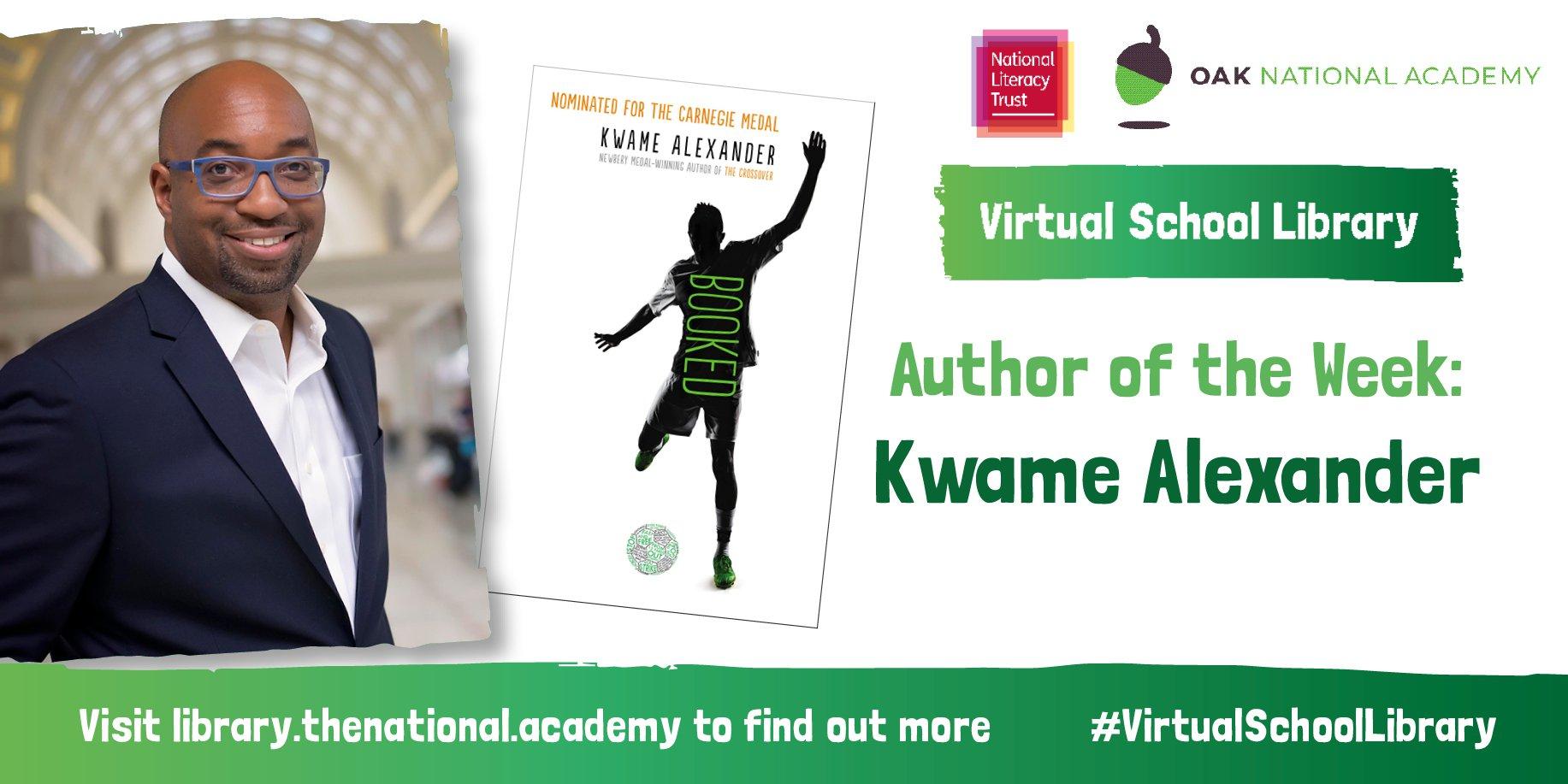 Kwame Alexander AOTW