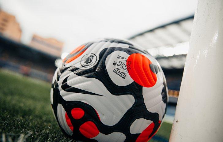Premier League ball 21-22