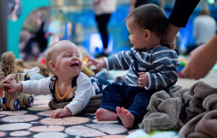 Looking at human faces is one of the most important ways babies learn to communicate.