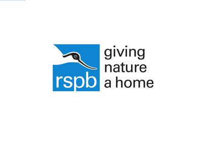 RSPB logo white background