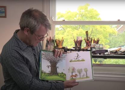 Axel Scheffler reads Stick Man