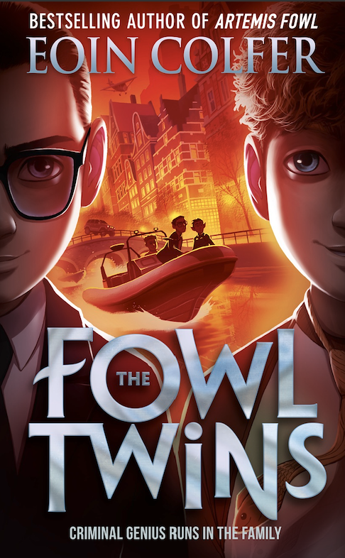 The Fowl Twins Book cover (small)
