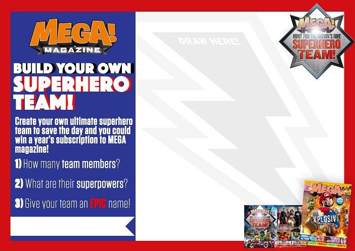 Superhero page