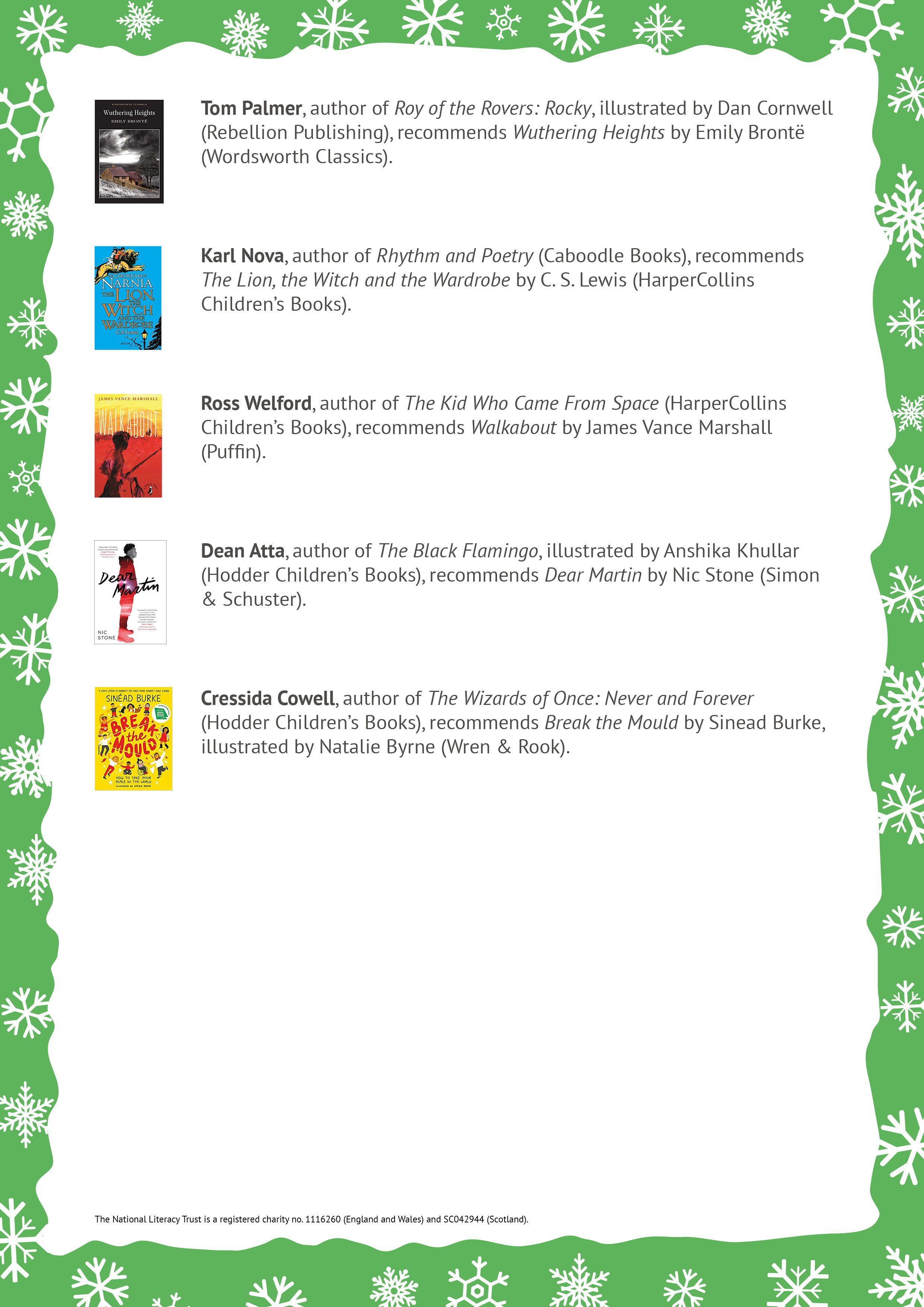 Spark a love of reading book list p2