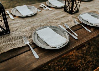 Family dinner meal