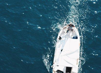 Ocean and boat