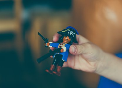 Pirate toy