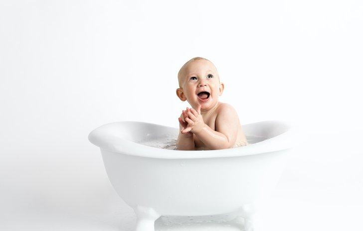 Bath time fun!