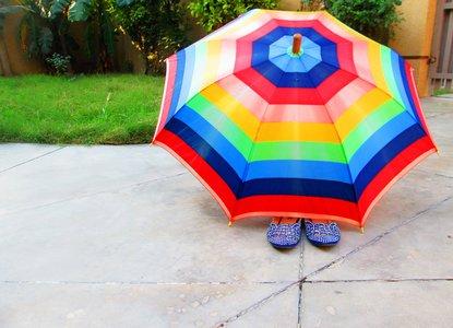 Umbrellas Are No Use