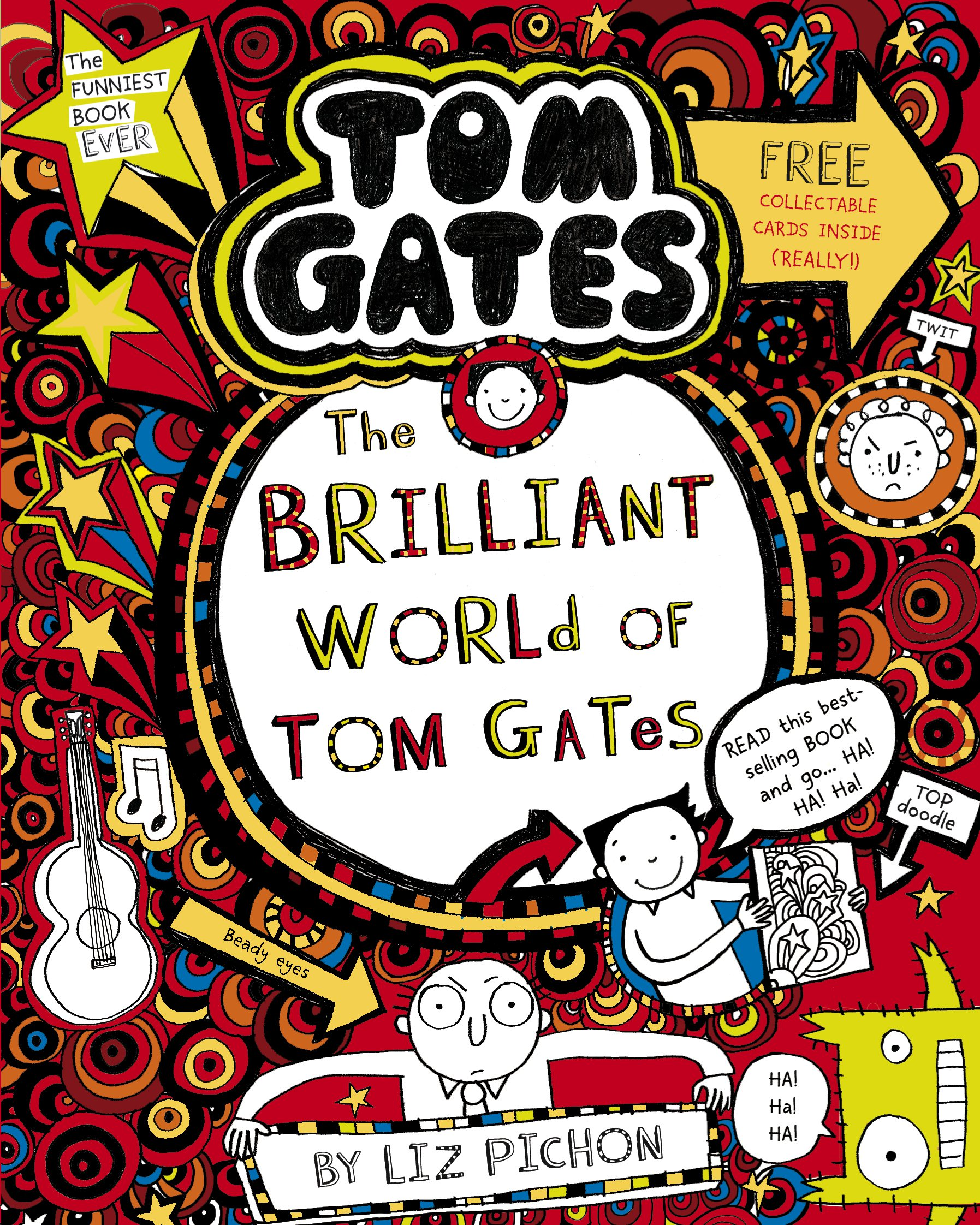 tom gates book cover